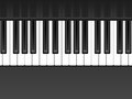 Piano background black and white keyboard Royalty Free Stock Photos