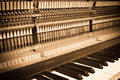 Piano interiors a concept fo classical music grunge style Stock Image