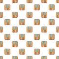 Piano keys pattern seamless