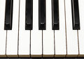 Piano keys from Top Stock Image