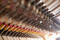 Piano mechanism inside Royalty Free Stock Photos