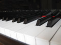 Piano, musical background. Royalty Free Stock Photography