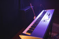 Piano in nightclub Royalty Free Stock Photo