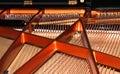 Piano strings Royalty Free Stock Photo