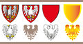 Piast Line Family Crest Royalty Free Stock Images