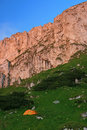 Piatra Craiului cliffs - Romania Royalty Free Stock Photos