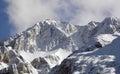 Piatra craiului ridge carpatian mountains romania Stock Photo