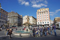 Piazza Barberini Royalty Free Stock Image