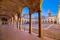 Piazza Castello In Mantova Arc...