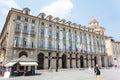 Piazza Castello Turin Royalty Free Stock Photo