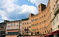 Piazza del Campo Stock Photography