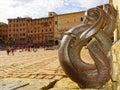 Piazza del campo, Siena, Tuscany, Italy Royalty Free Stock Photo