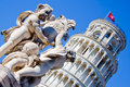 Piazza del Duomo - Tower of Pisa Royalty Free Stock Images
