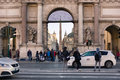 Piazza del Popolo Entrance Royalty Free Stock Photo