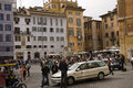 Piazza della Rotonda street scene Royalty Free Stock Photography