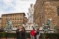 Piazza della Signoria in Florence Royalty Free Stock Photo