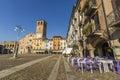 Piazza della Vittoria, Lodi, Italy Royalty Free Stock Photo