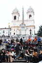 Piazza di spagna Royalty Free Stock Photo