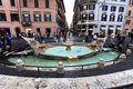 Piazza di Spagna, Rome Royalty Free Stock Photo