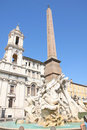 Piazza Navona, Rome, Italy Royalty Free Stock Photo