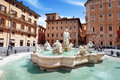 Piazza navona rome in italy Royalty Free Stock Images