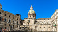 Piazza pretoria della vergogna at palermo shot from a public place Royalty Free Stock Image