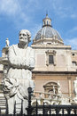 Piazza pretoria in palermo italy since eighteenth century the fountain the square was considered the representation of Stock Images
