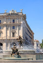 Piazza repubblica, rome Royalty Free Stock Photos