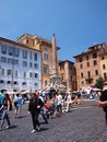 Piazza Rotonda, Rome, Italy Royalty Free Stock Images