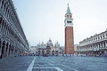Piazza San Marco with Campanile Royalty Free Stock Photo