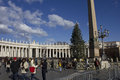 Piazza San Pietro in Rome Royalty Free Stock Photo