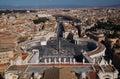 Piazza San Pietro in Vatican City Royalty Free Stock Photo