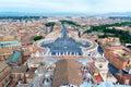 Piazza San Pietro in Vatican City, Rome, Italy Royalty Free Stock Photo