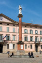 Piazza XX Settembre in Castel San Pietro Terme Royalty Free Stock Photo