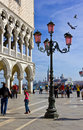 The Piazzetta di San Marco in Venice, Italy Stock Image