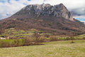 Pic de bugarach in the french pyrenees Stock Photography