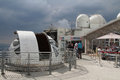 Pic du midi observatory la mongie france july work on the started in and in nasa funded the installation of a Royalty Free Stock Photography
