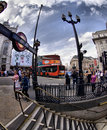 Picadilly Circus in London Royalty Free Stock Images