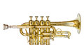 Piccolo Trumpet Royalty Free Stock Photo