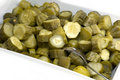 Pickle Chunks Royalty Free Stock Photography