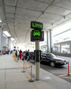 Pickup area at the Toronto Airport Royalty Free Stock Photo