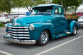 Pickup truck chevrolet advance design berlin may the th berlin brandenburg oldtimer day Royalty Free Stock Photos