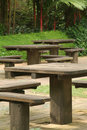 Picnic area Royalty Free Stock Image