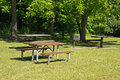 Picnic area Royalty Free Stock Photo