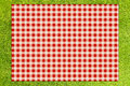 Picnic background creative top view Royalty Free Stock Images