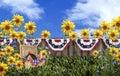 Picnic Basket Flower Garden