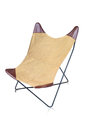 Picnic brown chair . Royalty Free Stock Photo