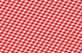 Picnic cloth red with some squares in it Stock Photos
