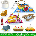 Picnic collection Stock Images