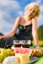 Picnic lunch Royalty Free Stock Images